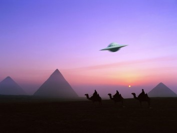 Image result for UFOs pyramids