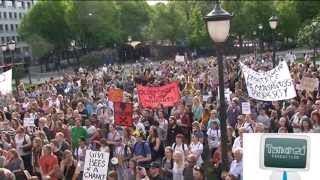 Marching against Monsanto Oslo Norway May 25th 2013 ny